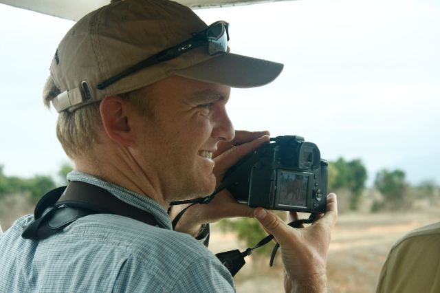 Birding with Noah in Kenya